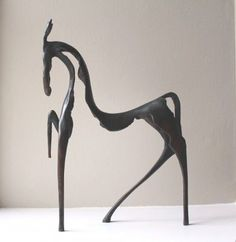 Stanley DOVE - Circus Horse | metal fine art | contemporary figurative sculpture