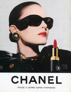 CHANEL makeup Red Lipstick