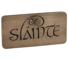 "Goose Studios - I have this hanging in my kitchen. Slainte is the Gaelic word meaning ""good health"".Wild Goose Studios - I have this hanging in my kitchen. Slainte is the Gaelic word meaning ""good health""."