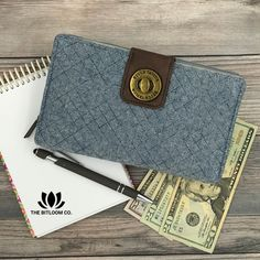 Set the stage for budget success. With 8 labeled slots for your cash budgeting categories, you'll make every dollar count.   Get on the path to financial security and debt free living with the Bella Taylor Cash System Wallet. Exclusively at The BitLoom Co.