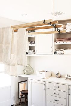 Tidy Tips You Need From Remodelista's Latest Book Nook And Cranny, Tidy Up, Latest Books, New Homes, Kitchen Cabinets, Design Inspiration, Interior Design, Furniture, Laundry