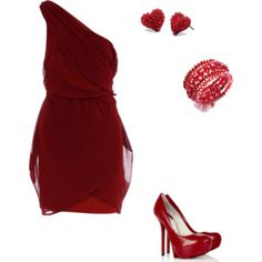 Dream Valentines Day outfit all  it needs is an #AnnClutch