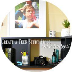 How To Create a Teen Study Space On A Budget... How To Create a Teen Study Space On A Budget... #interiors #interiordecorating #teenage #study #desksetup #parenting #parentingteens Study Space, Desk Setup, Parenting Teens, Lifestyle Blog, Basement, Budgeting, Interior Decorating, Hearts, Interiors