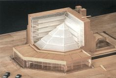 Model : History Faculty Library, University of Cambridge | James Stirling and James Gowan