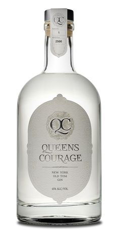 Queens Courage, from Queens New York.  Old Tom Gin.  2015 Ultimate Spirits Challenge Finalist