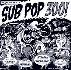 Sub Pop records | Sub Pop Records Compilation (2) SUB-POP-300