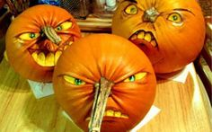 These terrifying Halloween pumpkins will leaving you and your kids scared for life, which is the point, right?