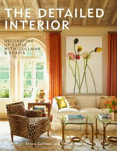 Designer Elissa Cullman believes that focusing on the particulars of an interior is essential to devising a cohesive design scheme. Vignette and detail photos alongside room shots help to explain her step-by-step process of creating a livable space. Available in October, The Monacelli Press, $65