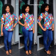 Uche Blouse by THEAFRICANSHOP on Etsy, ~Latest African Fashion, African Prints, African fashion styles, African clothing, Nigerian style, Ghanaian fashion, African women dresses, African Bags, African shoes, Kitenge, Gele, Nigerian fashion, Ankara, Aso okè, Kenté, brocade. ~DK
