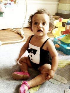 SS12 Tuxedo Swimsuit #minirodini