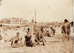 A day at Marianao Beach, Havana, Cuba 1930s