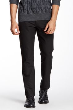 Zip fly with button closure 2 front slash pockets and 1 coin pocket 2 back patch pockets Low rise Slim fit Approx. 10″ rise, 33″ inseam Made in Italy Brand: John Varvatos Retailer: Nordstrom-Rack Similar Item Here  Price : 398.00$ Sale Off Price: 189.00$