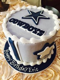 Dallas Cowboys Birthday Cake Cowboy Cakes Party