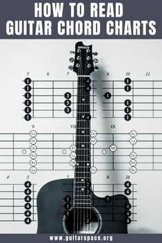 Today, we're here to guide you through the process of how to read guitar chord charts so you can up your playing like a boss. Learn Acoustic Guitar, Music Theory Guitar, Guitar Chords Beginner, Guitar Chords For Songs, Music Chords, Guitar Chord Chart, Learn To Play Guitar, Guitar For Beginners, Music Guitar