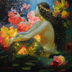Risultati immagini per Victor Nizovtsev art Fantasy Mermaids, Mermaids And Mermen, Real Mermaids, Victor Nizovtsev, Illustration Art, Illustrations, Mermaid Illustration, Mermaid Art, Mermaid Paintings