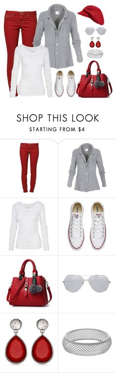 """""""Casual wear"""" by gallant81 ❤ liked on Polyvore featuring True Religion, Fat Face, Converse, Linda Farrow and Echo"""
