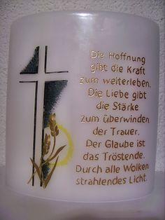 Kerzen-Design Bärbl: Trauer Grief, Shot Glass, Candles, Lights, Tableware, Design, Memories, Ikea Candles, Candle Art