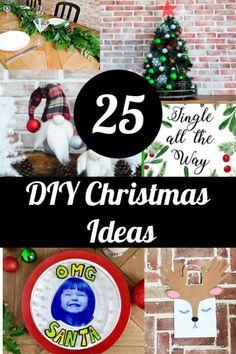 25 diy christmas craft ideas. #crafts #christmascrafts #christmasinspiration #christmasideas #diychristmasideas #christmasprintables #christmaswrappingideas #kidscrafts #kidschristmascrafts #holidayideas #holidayrecipes #christmasrecipes