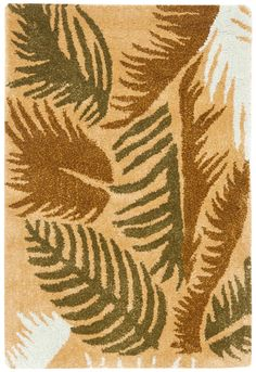 SPRING 2017 TREND: Tropical Prints | Soho Contemporary Rectangle Area Rug - Taupe/Multi (2' x 3') | Safavieh | Home Gallery Stores