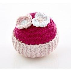 -Pebble- Cupcake met Snoepbloemetjes