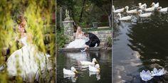 Johnstone Studios - bride and groom bridge