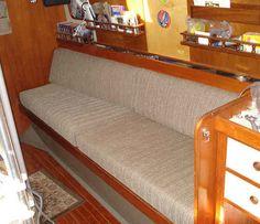 Making new boat cushions