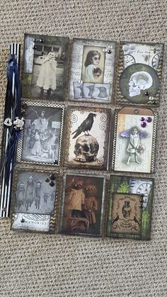 Spooky Halloween pocket letter by yvonne cunningham