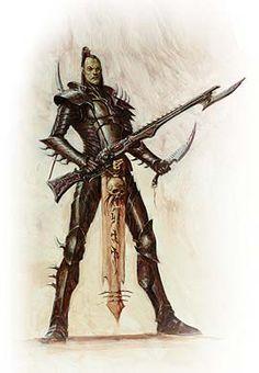 40k - Dark Eldar Kabalite Warrior