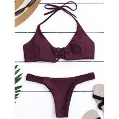 SHARE & Get it FREE | Braided Criss Cross Halter Push Up Padded BikiniFor Fashion Lovers only:80,000+ Items·FREE SHIPPING Join Dresslily: Get YOUR $50 NOW!
