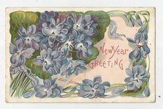 New Year Greeting P 965 | eBay