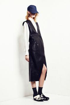 Look 3 Ann-Sofie Back Atelje Spring 2013 #leather