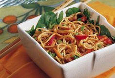 Weight Watchers Peanut Noodle Salad