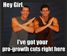 Tony Horton with Congressman Paul Ryan. This website is hilarious - sometimes too weird, but sometimes quite cute and clever.