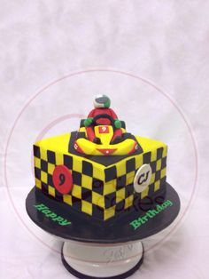Coca Cakes - Kids Brithday - Racing Kart