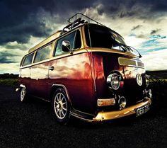 VW VAN  To make that van look that pretty, it has to be filed under ART.