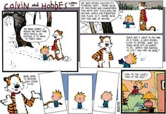 More philosophy from Calvin and Hobbs.