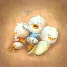 Dewie, Huey, and Louie Disney And Dreamworks, Disney Pixar, Walt Disney, Cartoon Games, Cartoon Tv, Jagodibuja Comics, Uncle Scrooge, Disney Ducktales, Disney Artwork