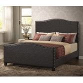 Found it at Wayfair - Farragut Upholstered Panel Bed