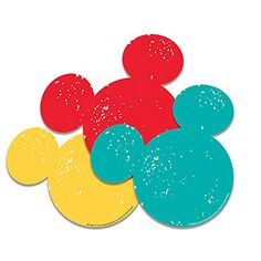 Eureka Back to School Disney Mickey Mouse Silhouette Paper Cut Out Classroom Decorations for Teachers, W x H Mickey Mouse Classroom, Disney Classroom, Mickey Mouse Clubhouse, Disney Mickey Mouse, Classroom Ideas, Future Classroom, Disney Door Decs, Mickey Mouse Silhouette, Disney Characters Costumes