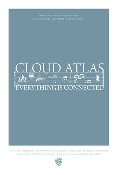 Fan-Made Cloud Atlas Poster Best film I've seen in a long time