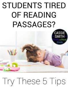 Learn five ways you can get your students motivated to read reading passages! Reading Comprehension Skills, Reading Passages, Guided Math, Guided Reading, Best Pens, Student Motivation, Student Reading, Third Grade, Elementary Schools
