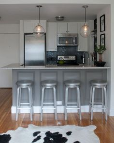 contemporary kitchen by Stephanie Sabbe