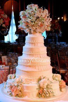 Pastel tarta de bodas 2011 Sylvia Weinstock. Servicios para bodas