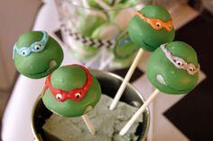 Teenage Mutant Ninja Turtles Birthday Party Ideas   Photo 29 of 50   Catch My Party