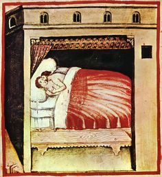 AspectsofDailyLife,Love by Giovannide'Grassi, 1300s