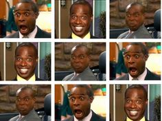 Many faces of Mr Moseby