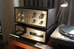 Luxman Integrated Amplifier & CD Player