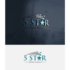 5 Star Home Group - Up and coming rockin Real Estate Group needs amazing logo!