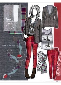 FASHION VIGNETTE: >>TRENDS - STYLE RIGHT . WOMENSWEAR A/W 2013-14