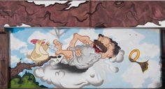 caratart Episode 2: Graffiti Kunst der Münchner Streetart Künstler LOOMIT und LawOne in der Tiefgarage des carathotel München. / caratart Episode 2: Graffiti art by the munich streetart artists LOOMIT and LawOne in the carathotel Munich underground parking. Graffiti Kunst, Painting, Underground Garage, Oktoberfest, Painting Art, Paintings, Painted Canvas, Drawings
